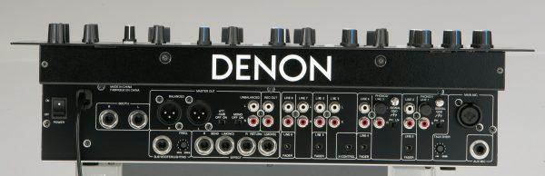 Denon X-500 back