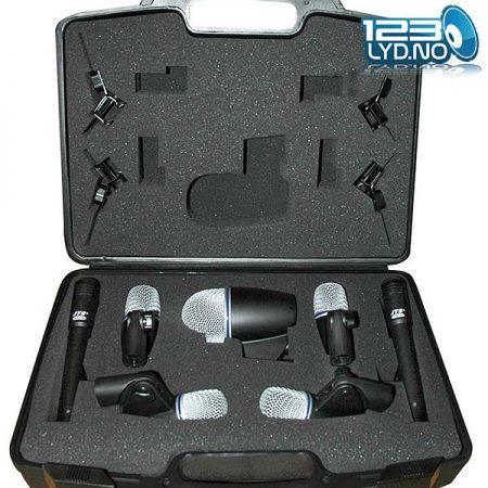 Mikrofonpakke JTS mikrofoner for trommer