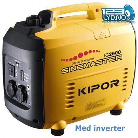 Kipor 2600 aggregat generator
