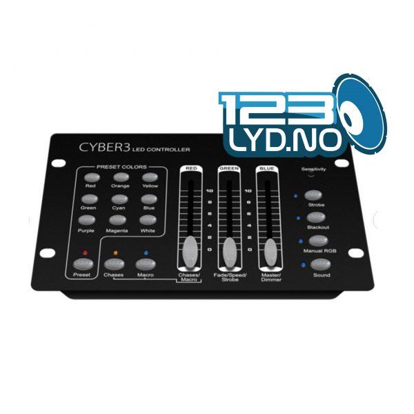 Prolights cyber 3 DMX kontroller for led lys