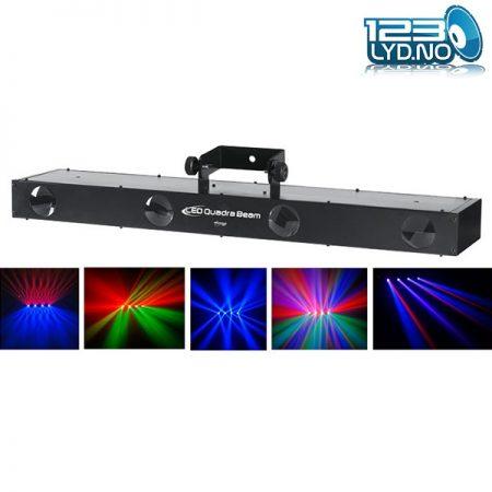 Quadrabeam LED lyseffekt