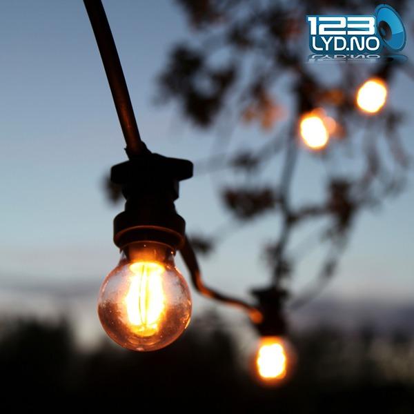Oppsiktsvekkende Lyslenke LED - Lenker For Bruk Ute Og Inne - 123 Lyd YI-22
