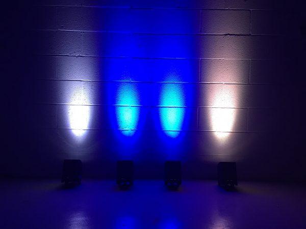 Smart bat uplightning