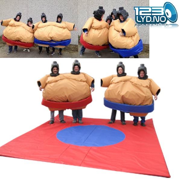 Twin Sumo drakt med matte