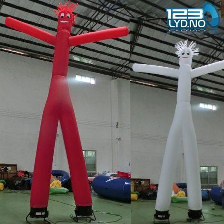 Air dancer dansende mann