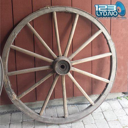 Kjerrehjul til western eller cowboy tema