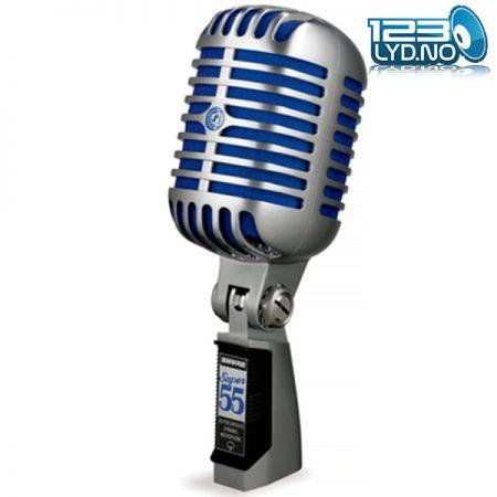 Retro mikrofon Shure super 55 - front