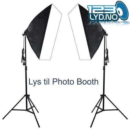 Lys til photo Booth selfiboks 1