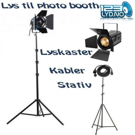 selfiboks Lys til photo Booth