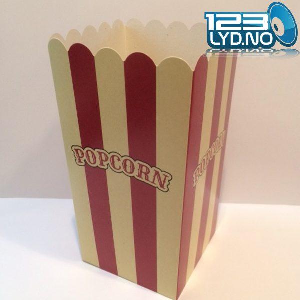 1.4 l Popcornbeger for salg