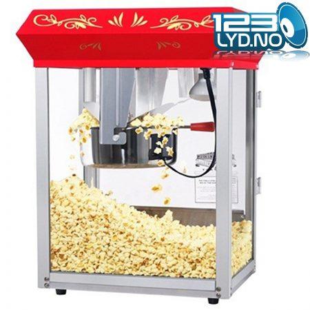 Popcorn maskin uten tralle til bursdag og kino