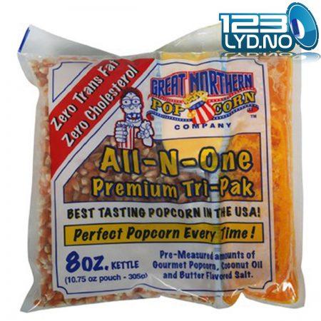Popcorn pakke 8oz - 305g