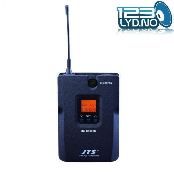 Trådløs mic single JTS RU 8011DB beltepack