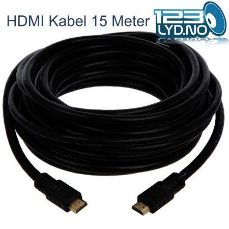 HDMI kabel 15 Meter til leie