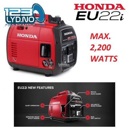 Honda EU22I Aggragat for strøm