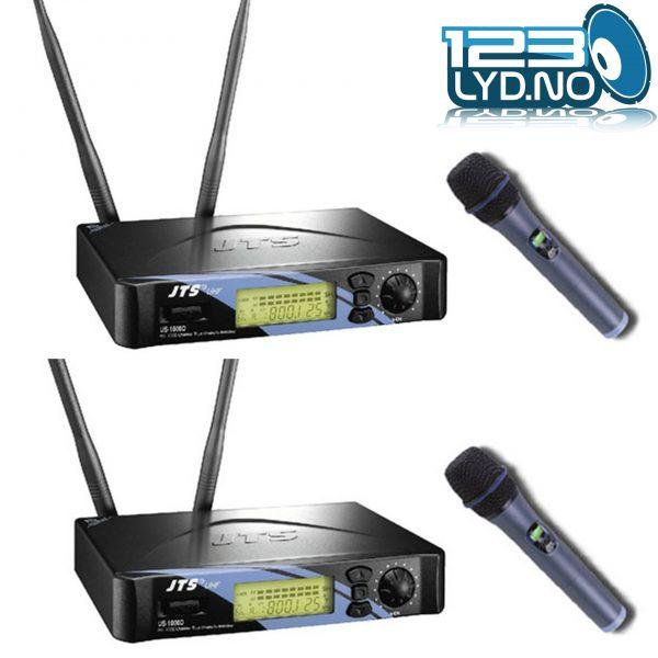 JTS-1000D-2 Trådløse håndholdte mikrofoner