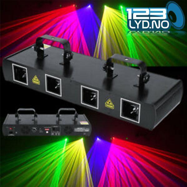 Laser til diskotek front