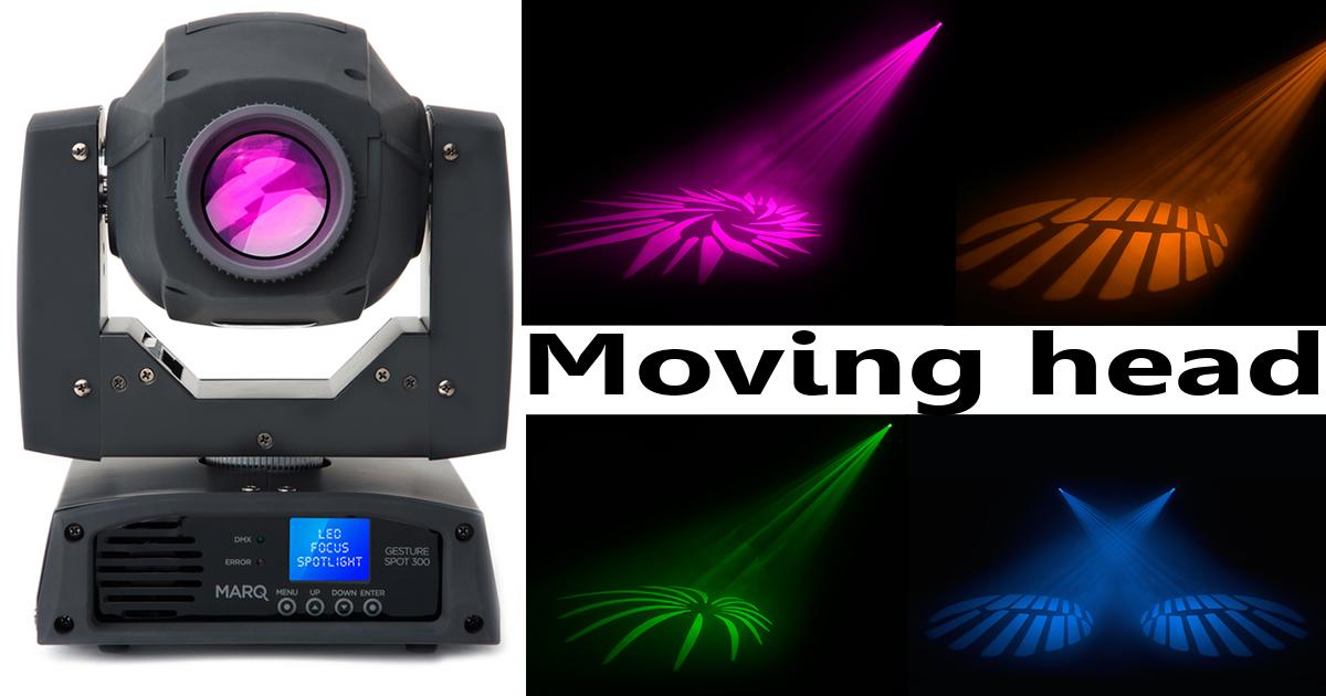 Moving Head 60w LED med alle funksjoner du kan forvente deg