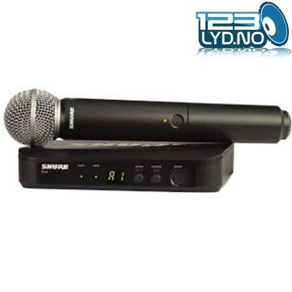 Shure blx24r trådløs mikrofon