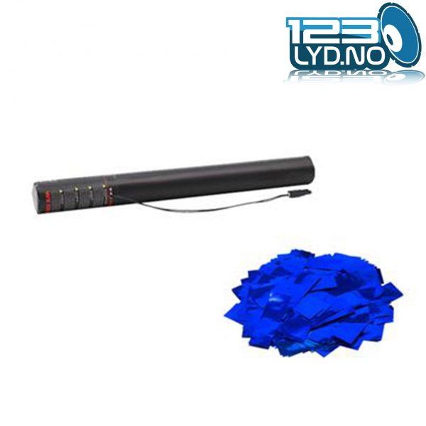 Blå metallic confetti konfetti