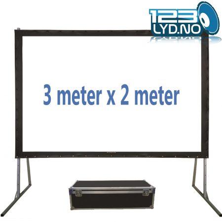 Lerret 3 x 2 meter