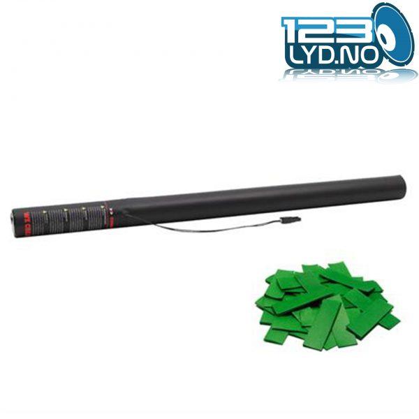 Mørk grønn papir konfetti
