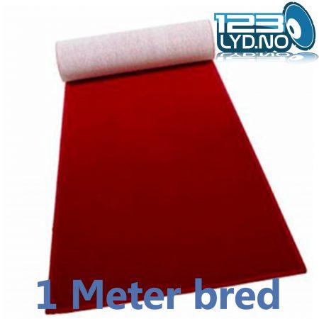 Rød løper 1 meter