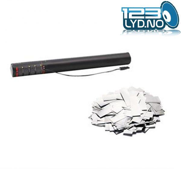 Sølv metallic confetti konfetti