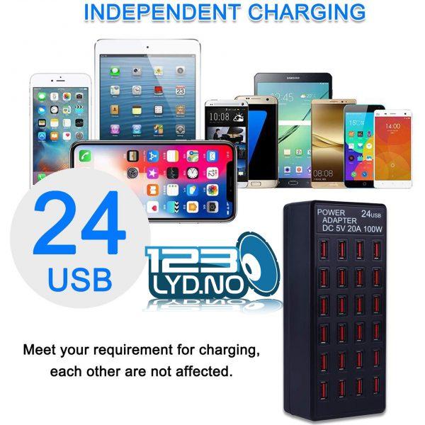 24 Port USB Lader