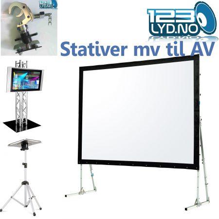 Prosjektor - AV Stativer