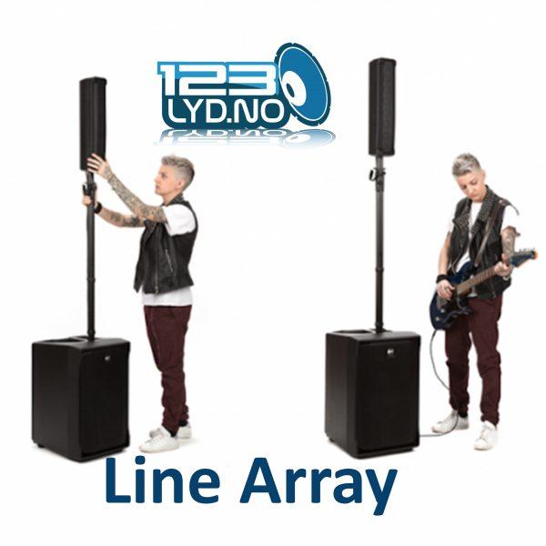 RCF JMIX8 Line Array leies ut