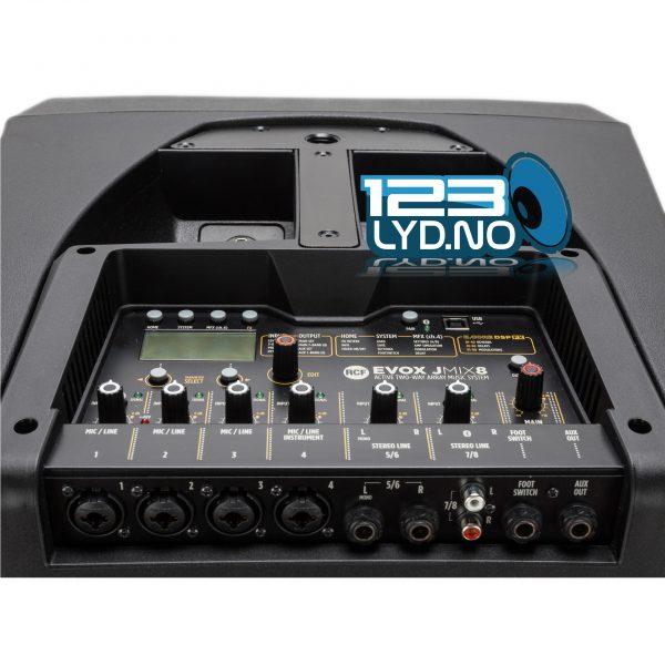 RCF Jmix8 top kasse