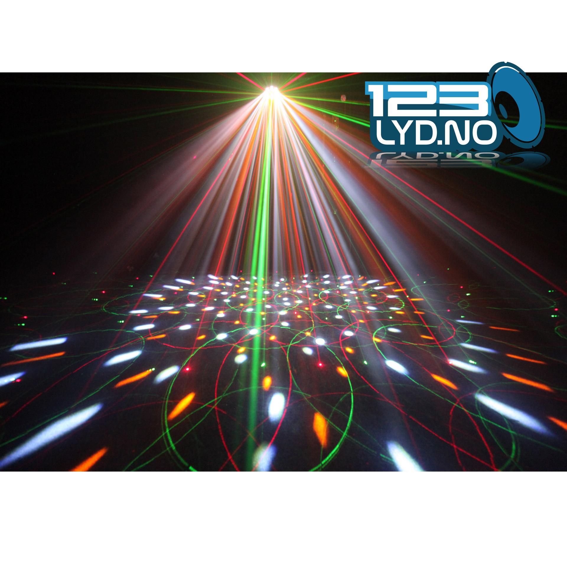 Discolys til leie Invaders laser