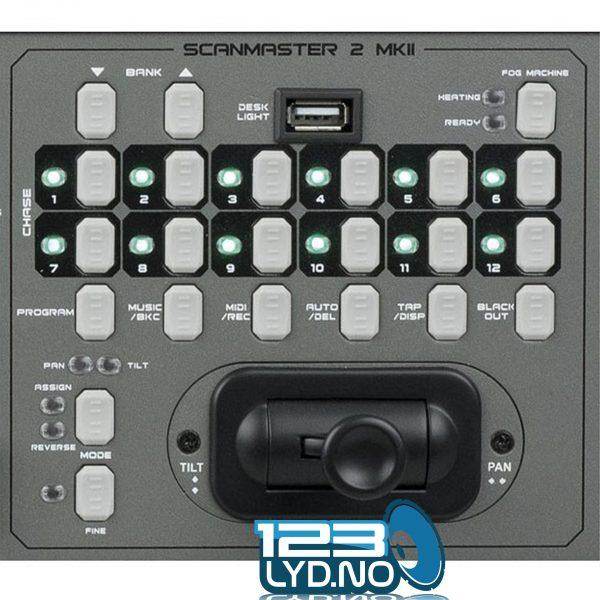 Lyskontroller DMXScanmaster Showtec 2MKII