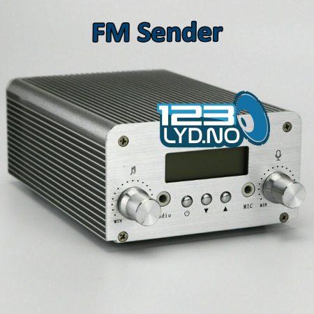 FM sender til leie