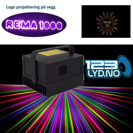 Laserworld PM-1800RGB laser til leie