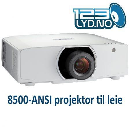 NEC PA853W leie projektor 1